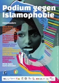 Podium gegen Islamophie am 01.07.2020